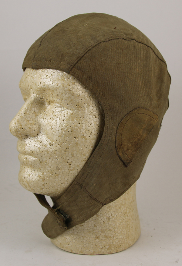 Early Cloth Flight Helmet