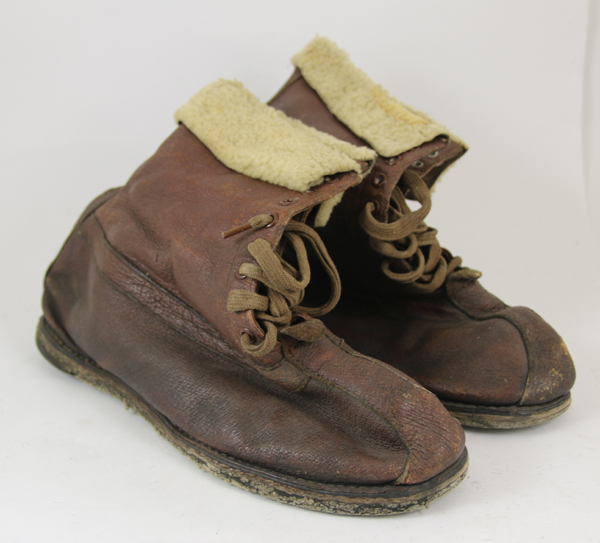 US Army Air Force Shearling Booties