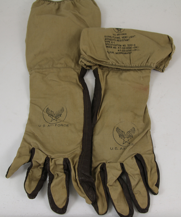 USAF K-1 Very Light Mosquito Resistant Gloves