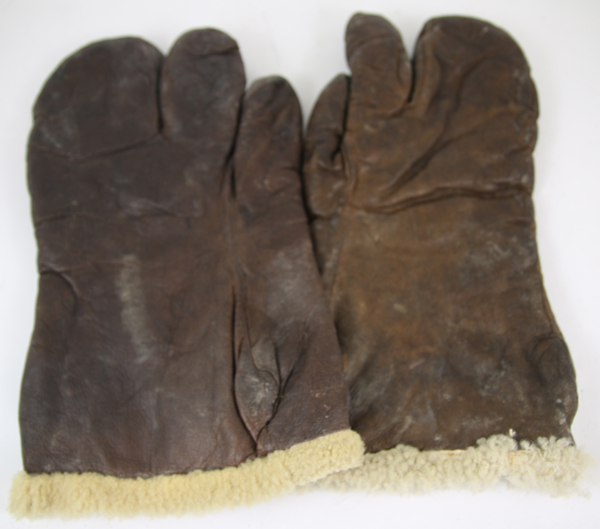 US Army Air Force A-9A Leather Shearling Gloves