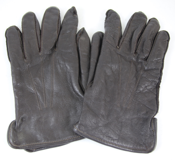 Leather 5 Finger Gloves