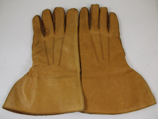 Leather 5 Finger Flight Gloves