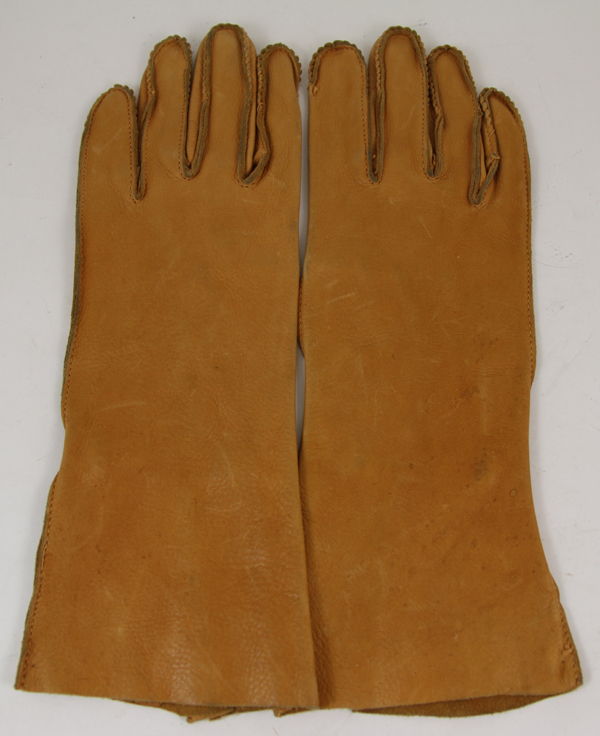 US Army Air Force B-3A Leather Flight Gloves