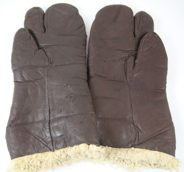 US Army Air Force A-9A Leather Flight Gloves