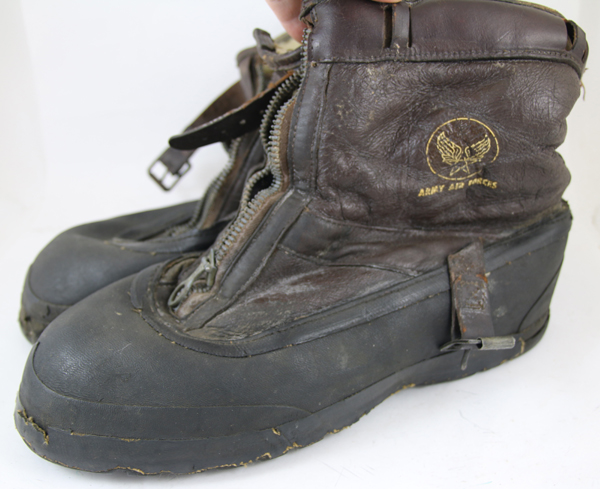 US Army Air Forces A-6A Flight Boots