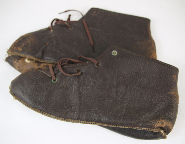 US Army Air Force Leather Shearling Boot Inserts