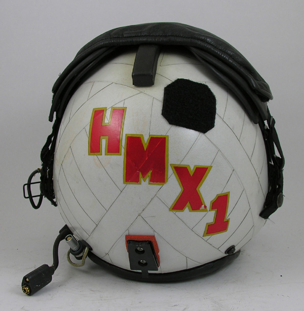 Original HMX1 HGU-84/P Flight Helmet with Reflective Tape