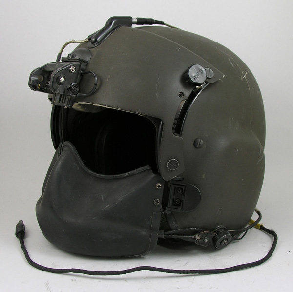 HGU-56/P Helicopter Helmet with NVG mount and Face Shield