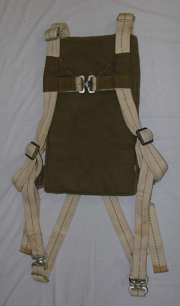 USAAF AN-6512 Back Parachute Harness and Pad