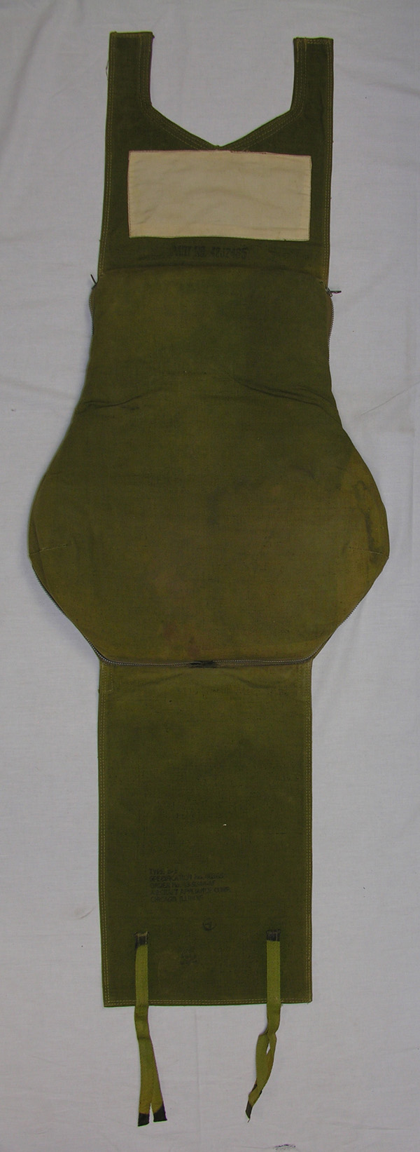 USAAF B-1 Emergency Survival Back Pad Kit