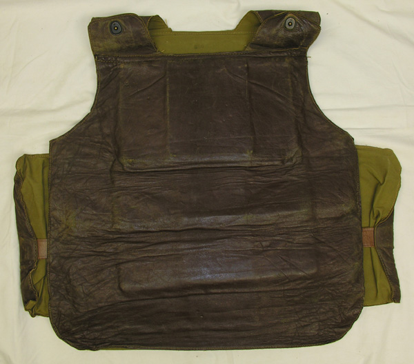 RARE Leather Covered Flak Vest