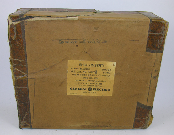 USAAF Q-1 Heated Booties Box