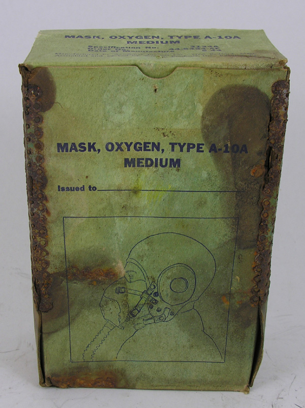 USAAF A-10A Oxygen Mask Box