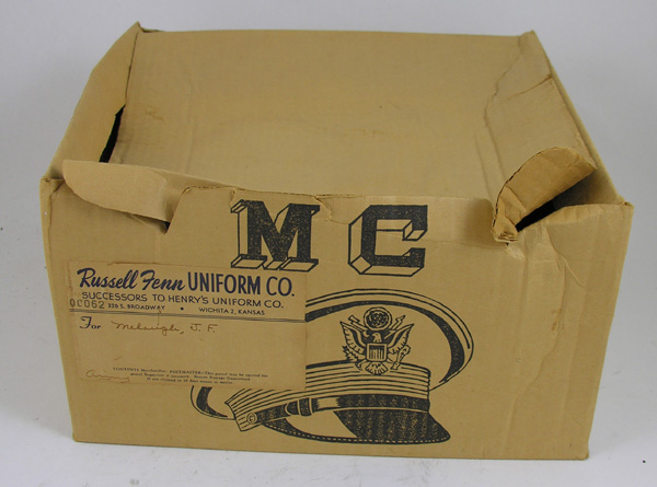 USAAF Officers Visor Cap Box