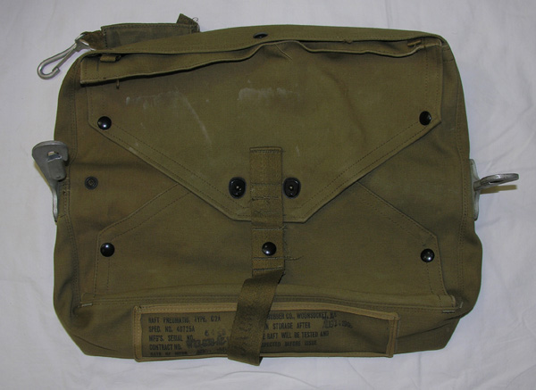 USAAF C-2A Survival Life Raft Kit