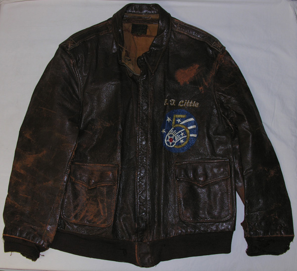 USAAF 5th Air Force Painted A-2 Leather Flight Jacket