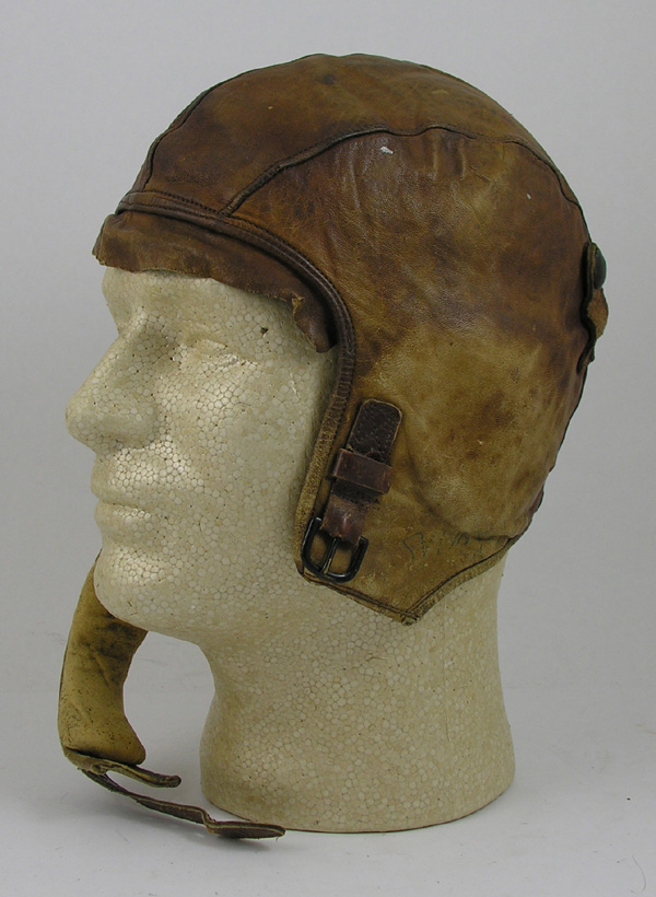 RARE USAAF A-4 Leather Flight Hat