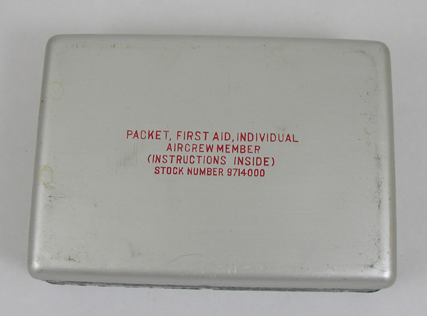 USAAF Aircrew Member First Aid Individual Packet empty