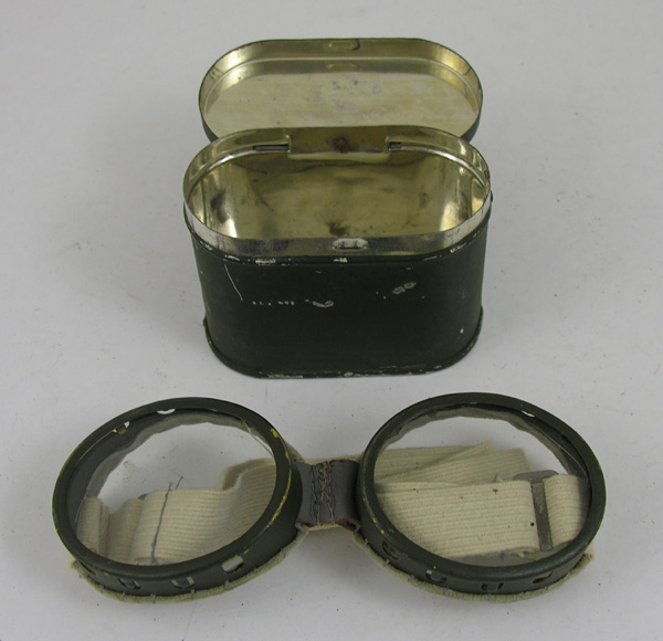 Aviator Goggles with original tin
