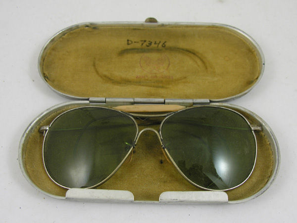 USAAF Comfort Cable Sunglasses with case