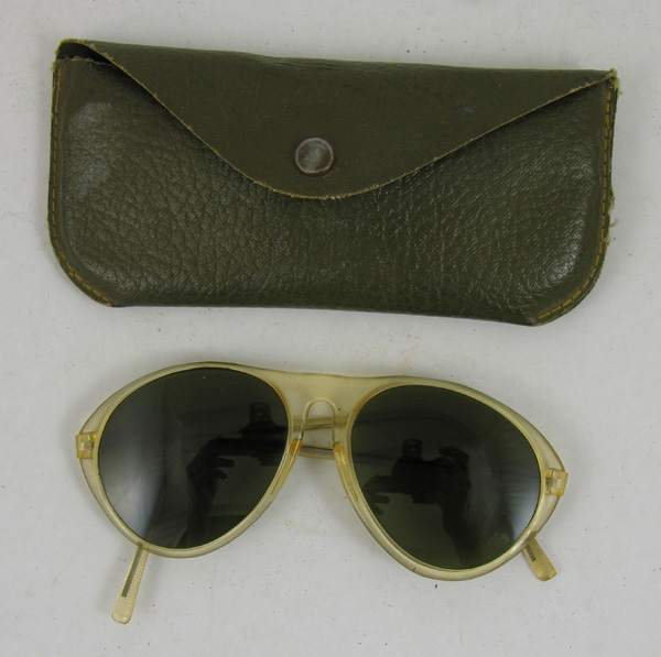 US Army Sunglasses with case