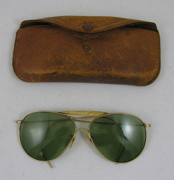 USAAF AN-6531 Sunglasses with case