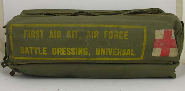 USAF First Aid Battle Dressing Kit