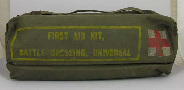 First Aid Battle Dressing Kit