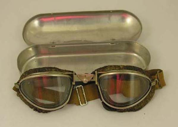 USAAF B-6 Goggles with case