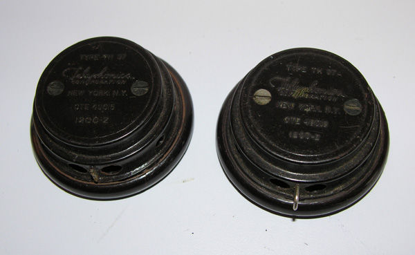 USN Th-37 earphone receivers