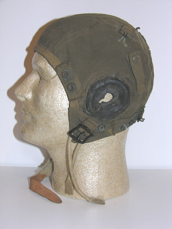A-9 Flight Helmet with rigger earcups