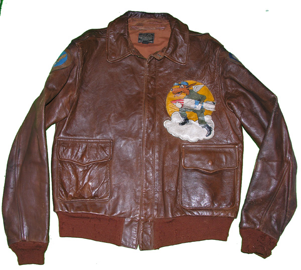 USAAF Leather A-2 Jacket with 394th Bomb Group