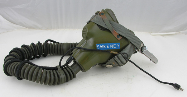 USAF MBU-5 Oxygen Mask with straight bayonets