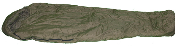 Green Artic Sleeping Bag