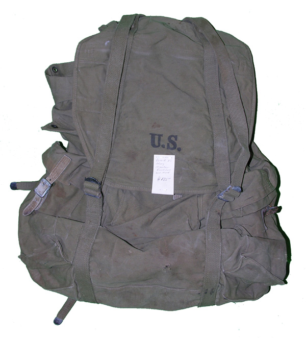 WW2 US Army Mountian Troopers Back Pack