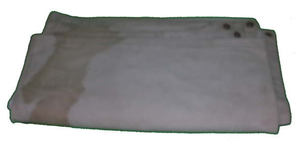 US Navy White Canvas Tarp