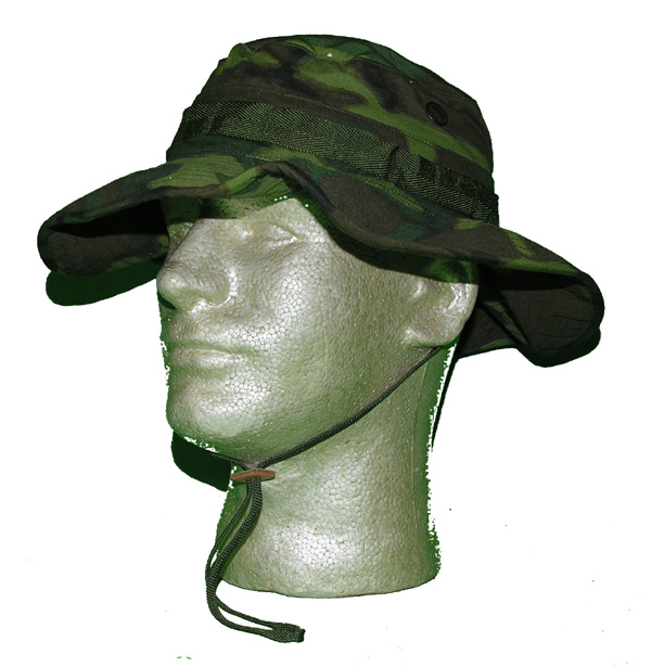 Camo Jungle Tropical Combat Hat Type 2