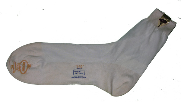 White Military Dress Socks