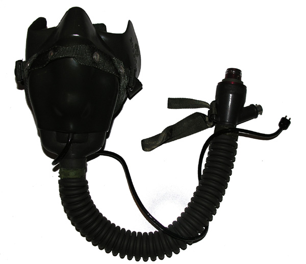 US Navy MS22001 Oxygen Mask with Hardshell and microphone