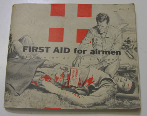 US Military First Aid for Airmen Booklet