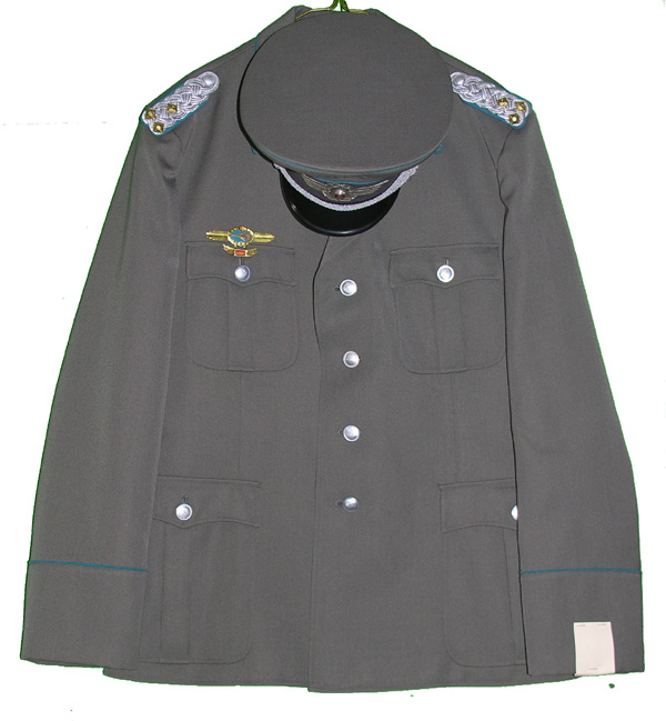 East German Aviation Tunic with Visor Cap