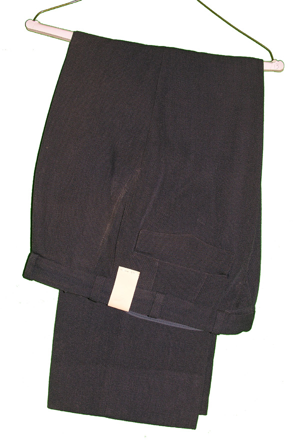 1981 Military Blue Trousers