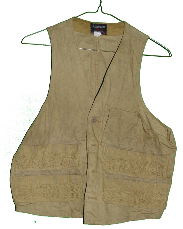 Old Sears Roebuck Hunting Vest