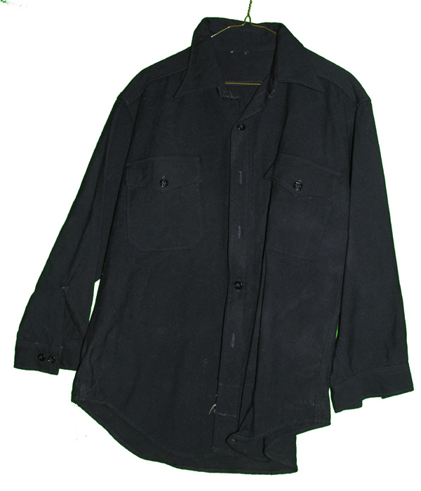 US Navy Blue Dress Shirt