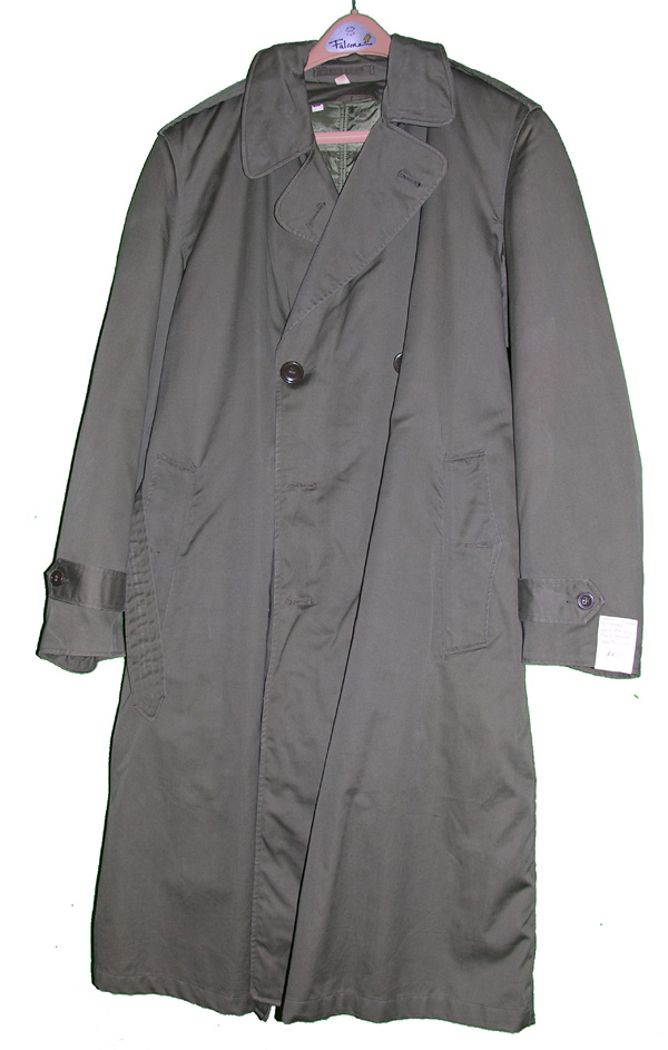 US Army Korean War Rain Overcoat