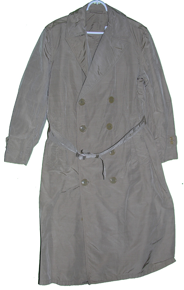 US Army Rain Overcoat