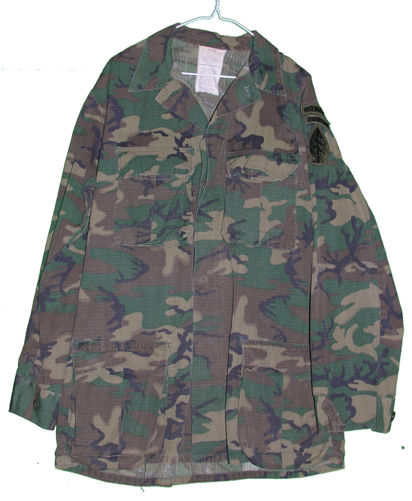US Airborne Special Forces Camo Tunic