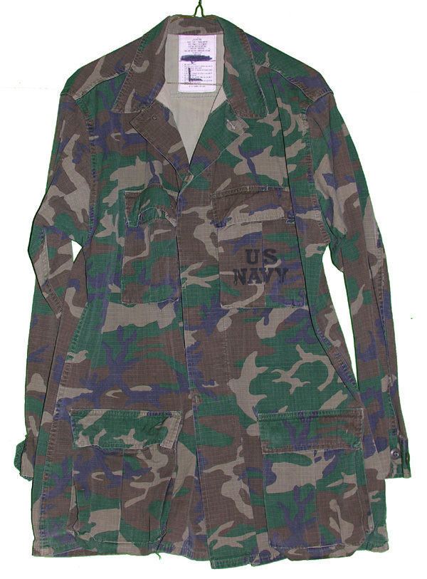 US Navy Camo Tunic