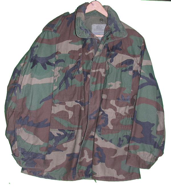 US Army Camo Coat