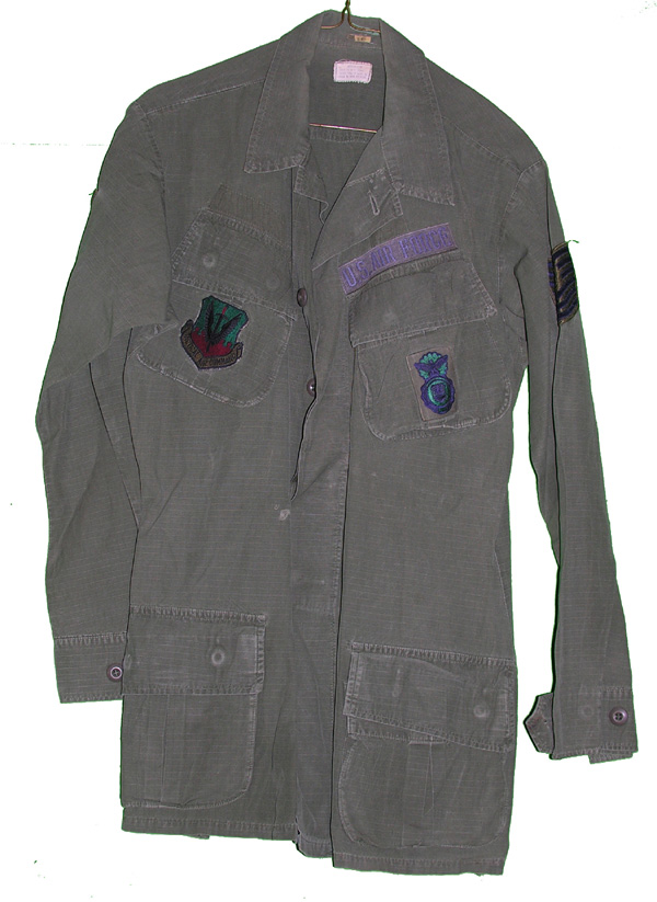 USAF Tunic with insignia